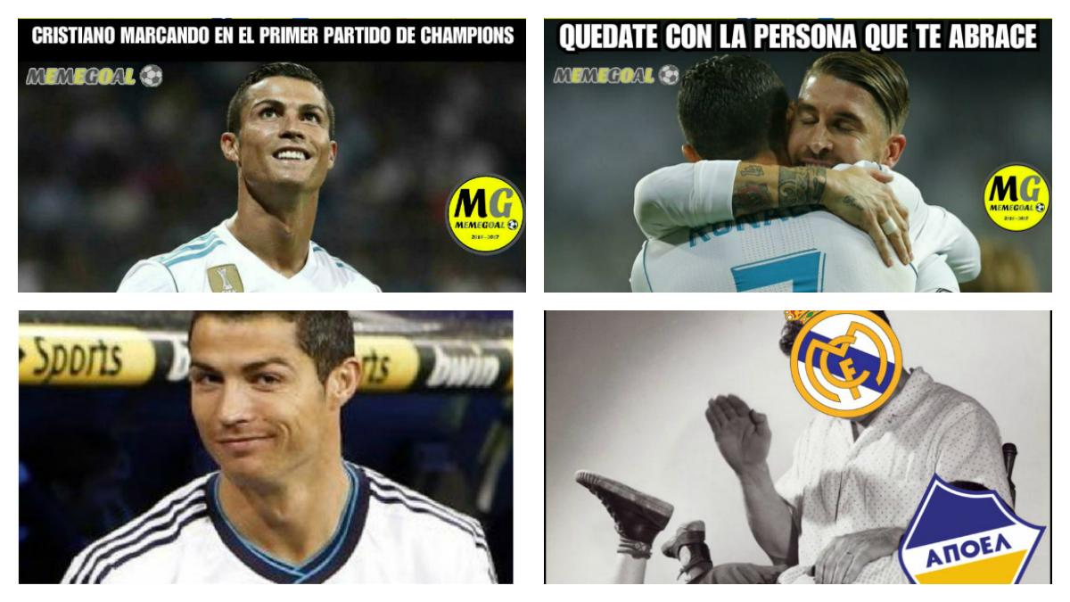 Los mejores 'memes' del Real Madrid-APOEL.