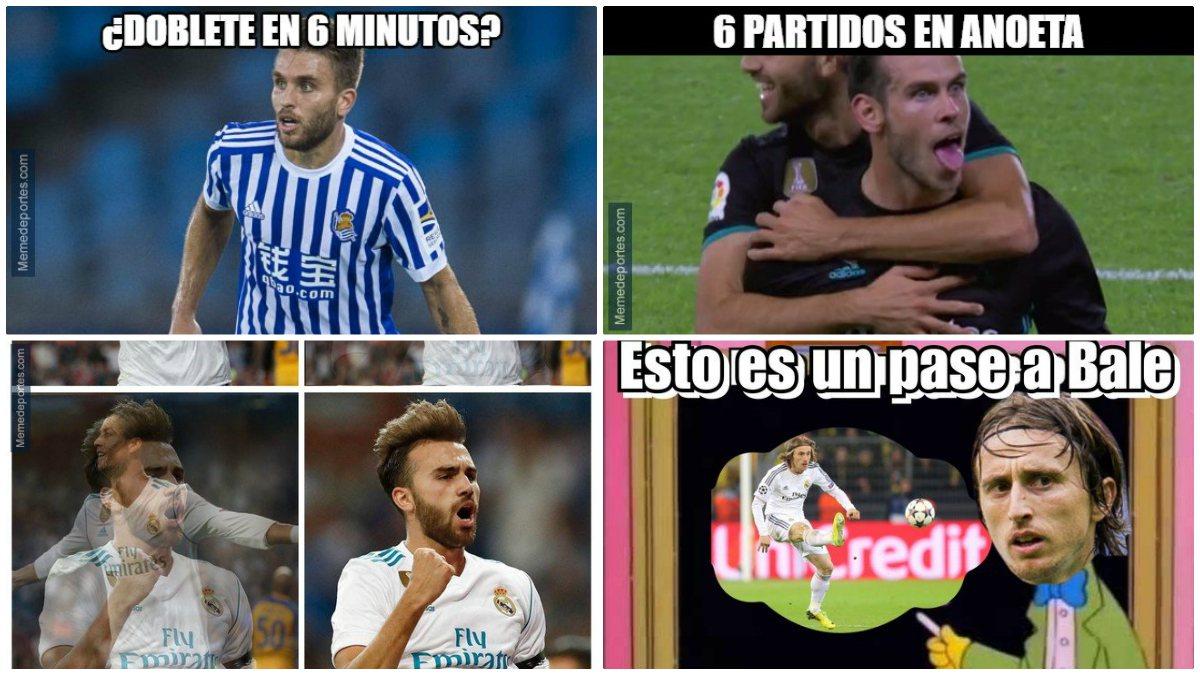 Los mejores memes del Real Sociedad-Real Madrid.