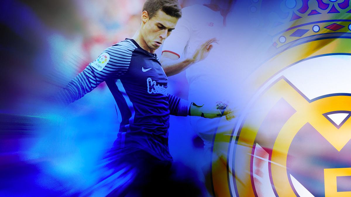 Kepa es un objetivo prioritario para el Real Madrid.