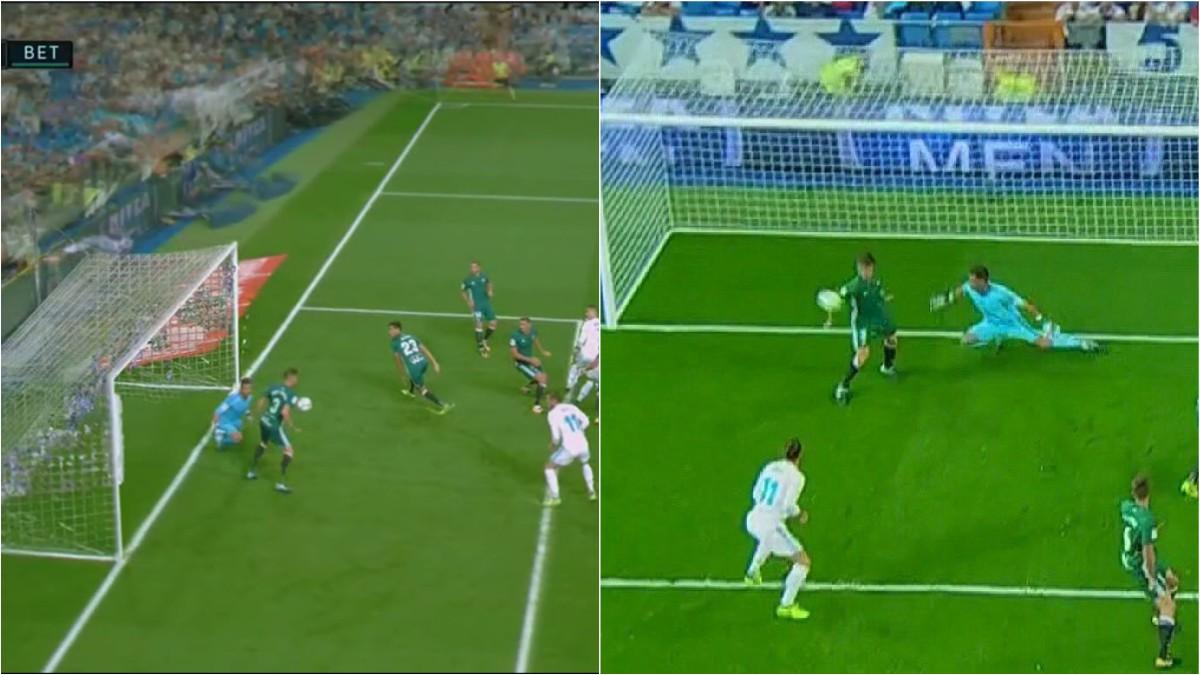 Javi García hizo una mando clara durante el Real Madrid-Betis. La victoria aquella noche sería andaluza por la mínima.