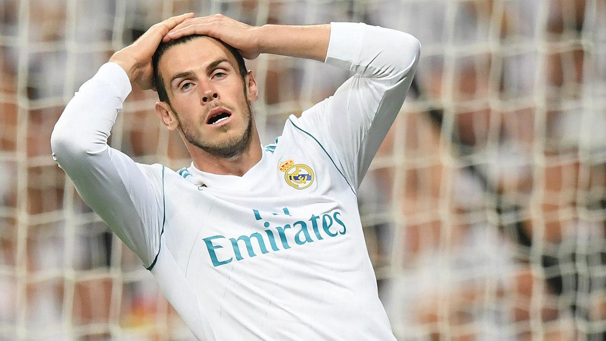Bale durante un partido con el Real Madrid. (AFP)