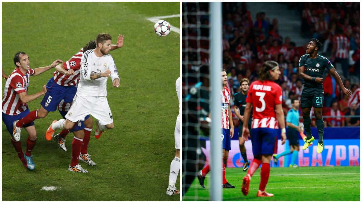 Sergio Ramos y Batshuayi tienen en común que lograron goles en el minuto 93 contra el Atlético.