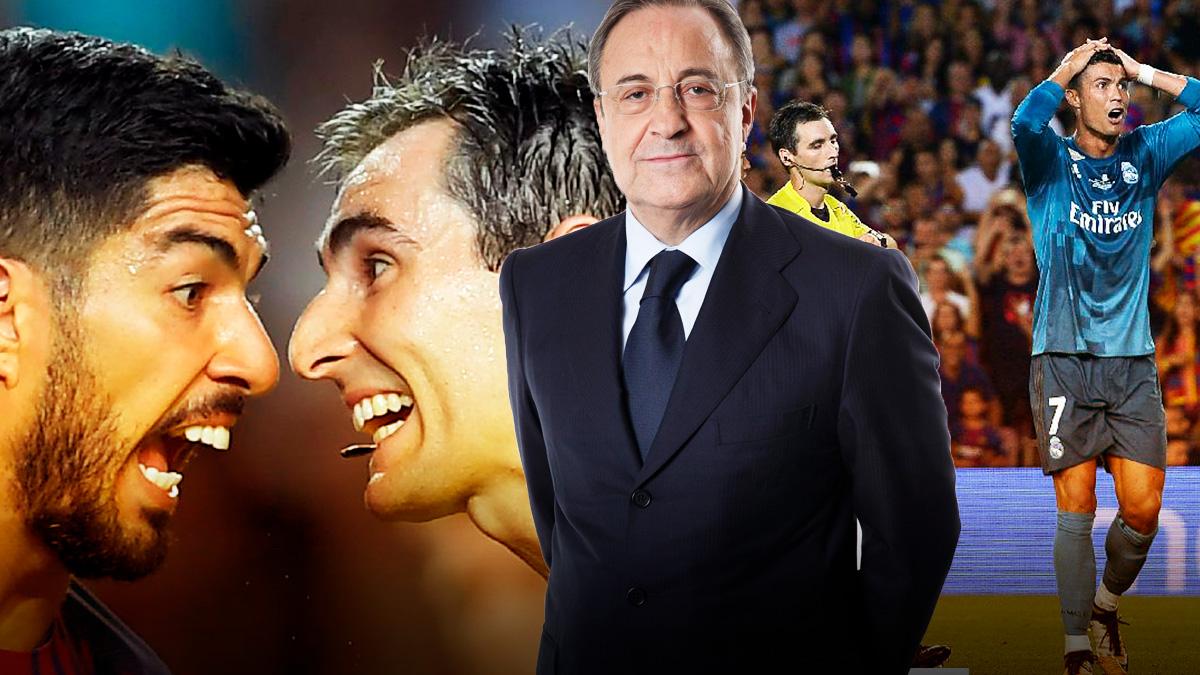 Florentino Pérez: «Es el momento de modernizar el sistema y ayudar a los árbitros»