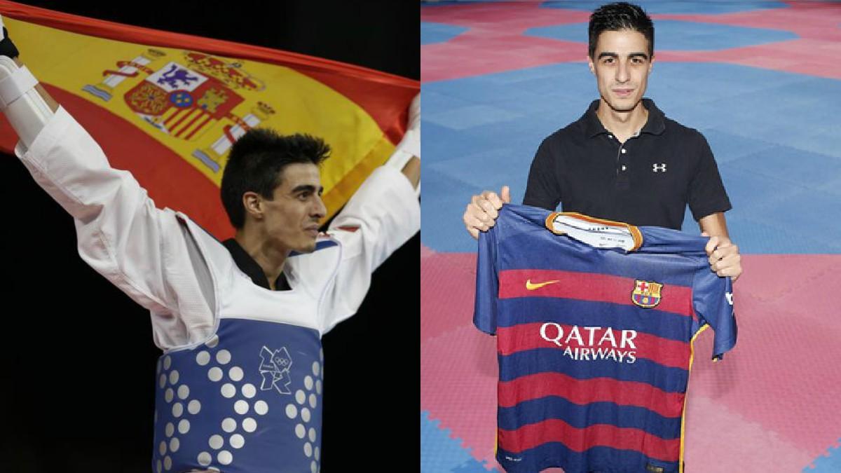 El taekwondista Joel González, doble medallista olímpico y culé confeso, se ha posicionado a favor de la unidad de España.