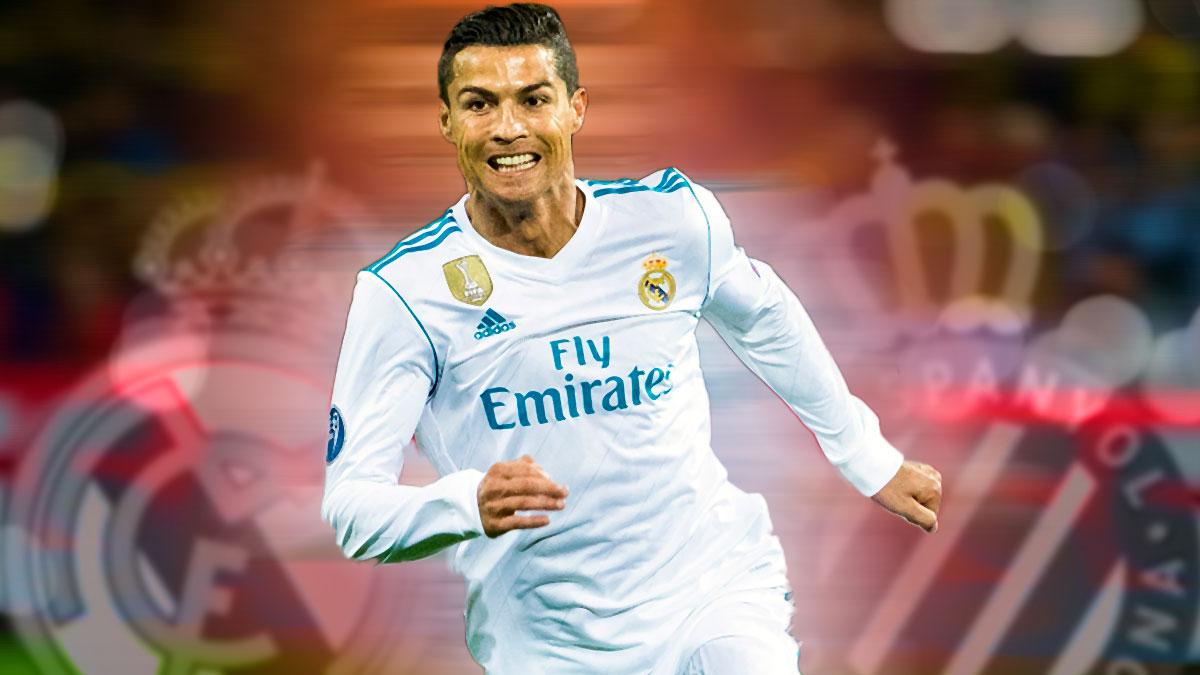 Cristiano Ronaldo suma 11 goles en los últimos cuatro partidos ante el Espanyol.