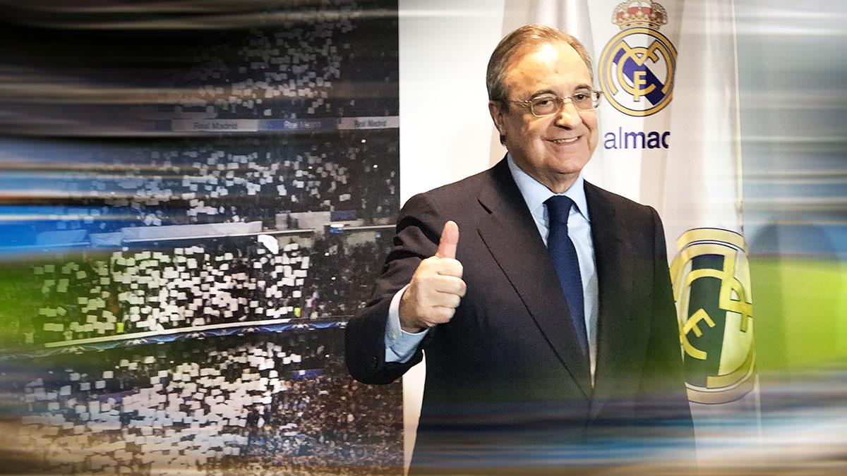 Florentino Pérez tiene al Real Madrid viviendo un momento histórico.