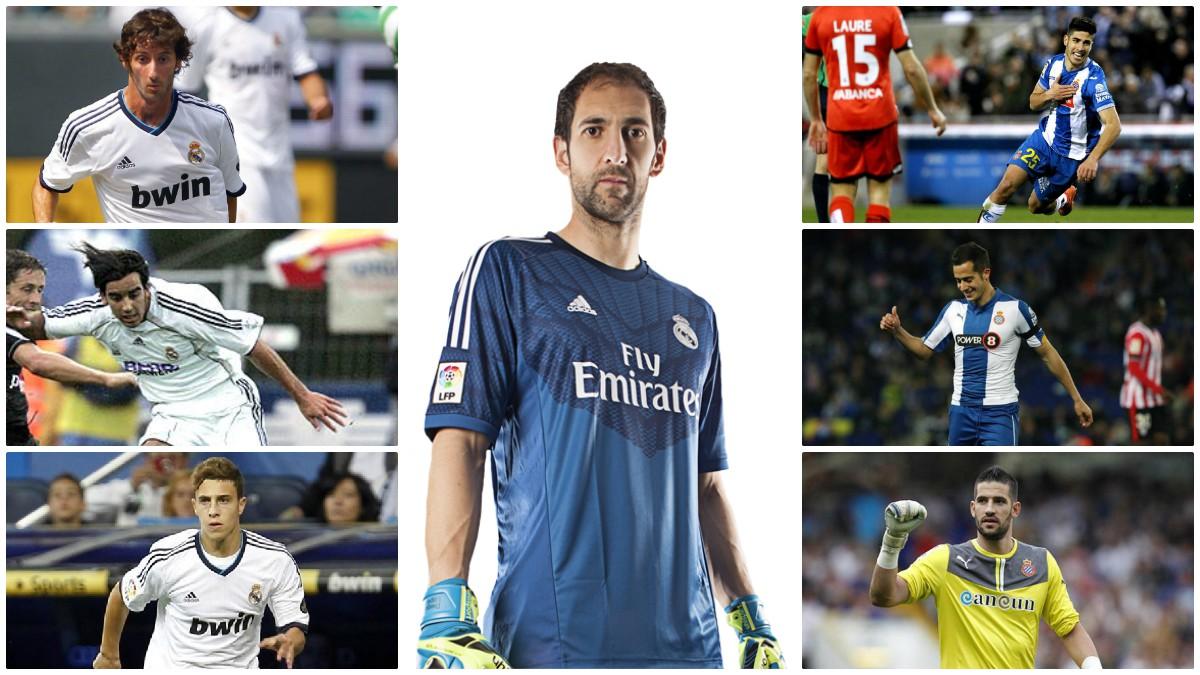 El trasvase de jugadores entre Real Madrid y Espanyol ha sido evidente en los últimos años.