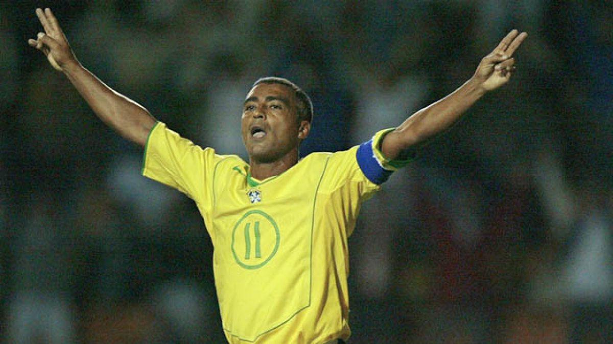 Romario ganó el Mundial de 1994 con la selección de Brasil.