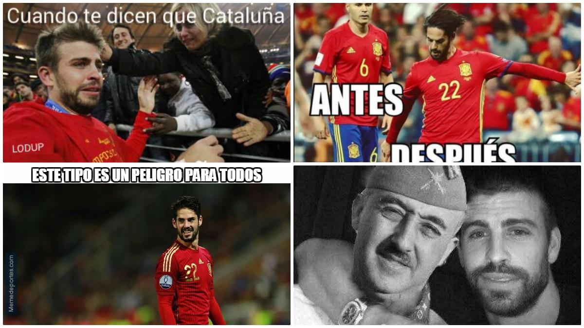 Los mejores 'memes' del España vs Albania.