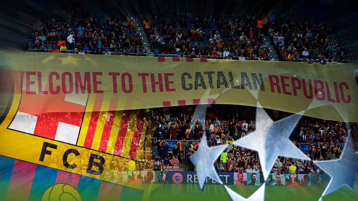 El Barcelona tendría casi imposible disputar la Champions en una Cataluña independiente