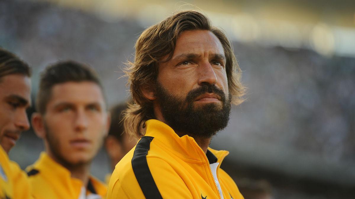 Pirlo en su etapa en la Juventus. (AFP)