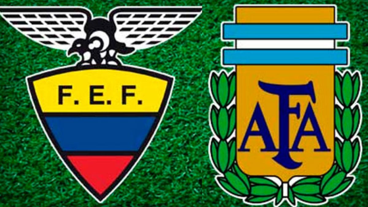Ecuador Vs Argentina: horario y canal de televisión.