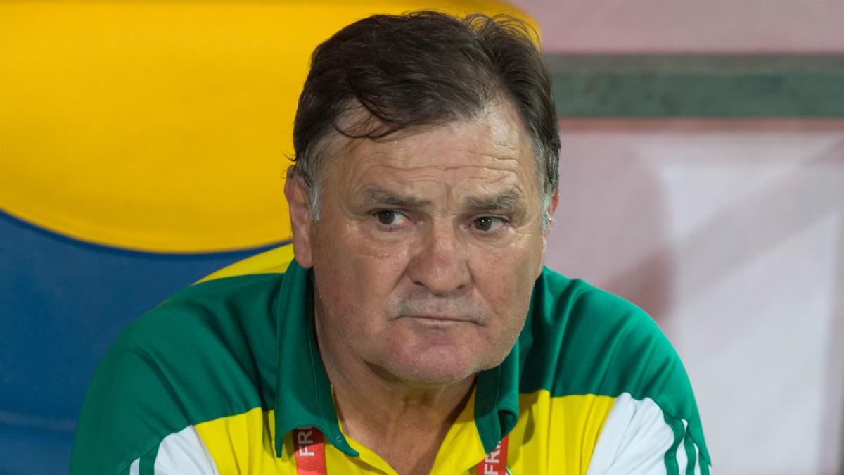 José Antonio Camacho, en un partido que dirigió recientemente (Getty)