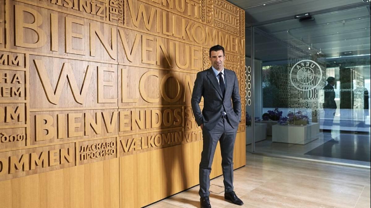 Luis Figo es nuevo embajador de la UEFA. (UEFA.com)