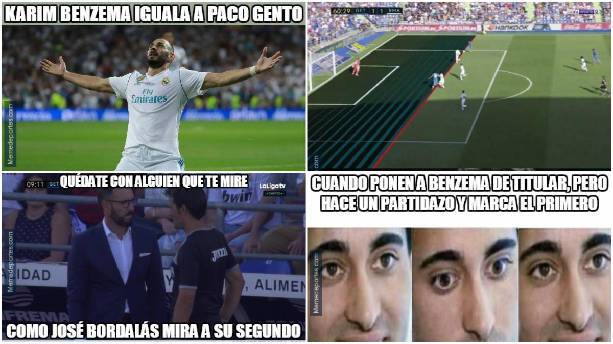 Los mejores memes del Getafe vs Real Madrid.