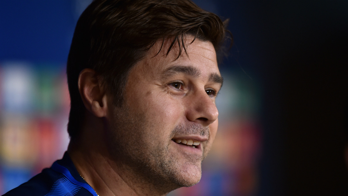 Pochettino analizó el Real Madrid-Tottenham en sala de prensa. (Getty)