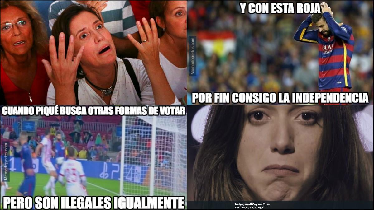 Los memes se ceban con Piqué.
