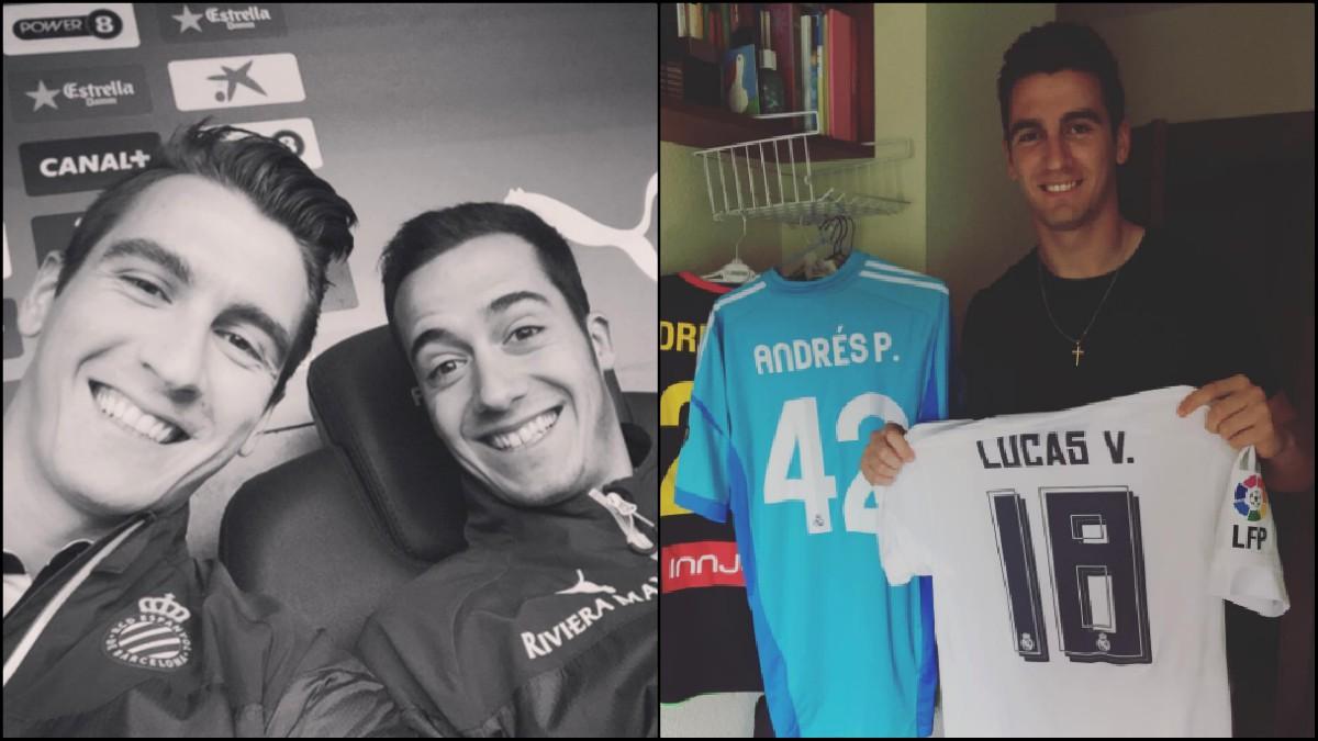 Andrés Prieto y Lucas Vázquez.