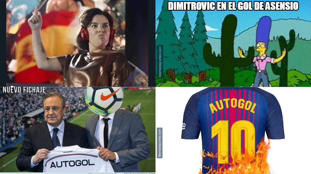 Los mejores memes del Real Madrid-Eibar