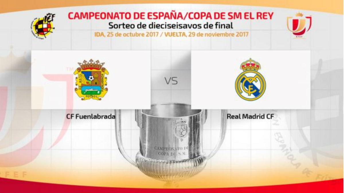 Fuenlabrada Vs Real Madrid.