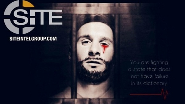 La imagen divulgada por la propaganda del ISIS.