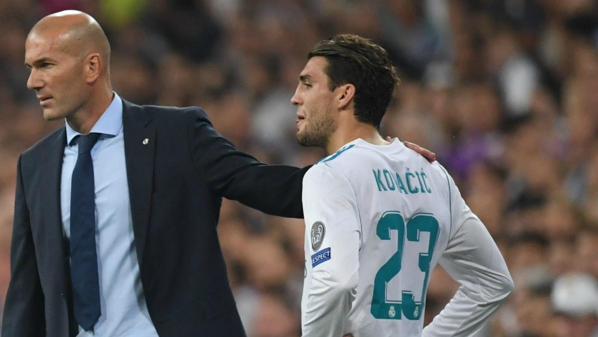 Kovacic, el as en la manga que tiene Zidane para el Clásico. (AFP)