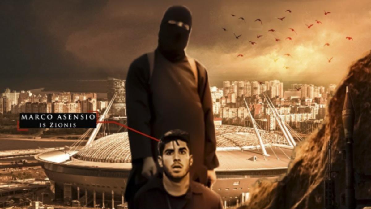 Marco Asensio, en la imagen del ISIS.