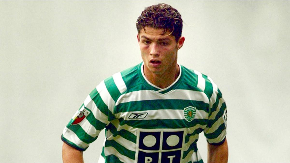 Cristiano Ronaldo, en un época con el Sporting de Lisboa.