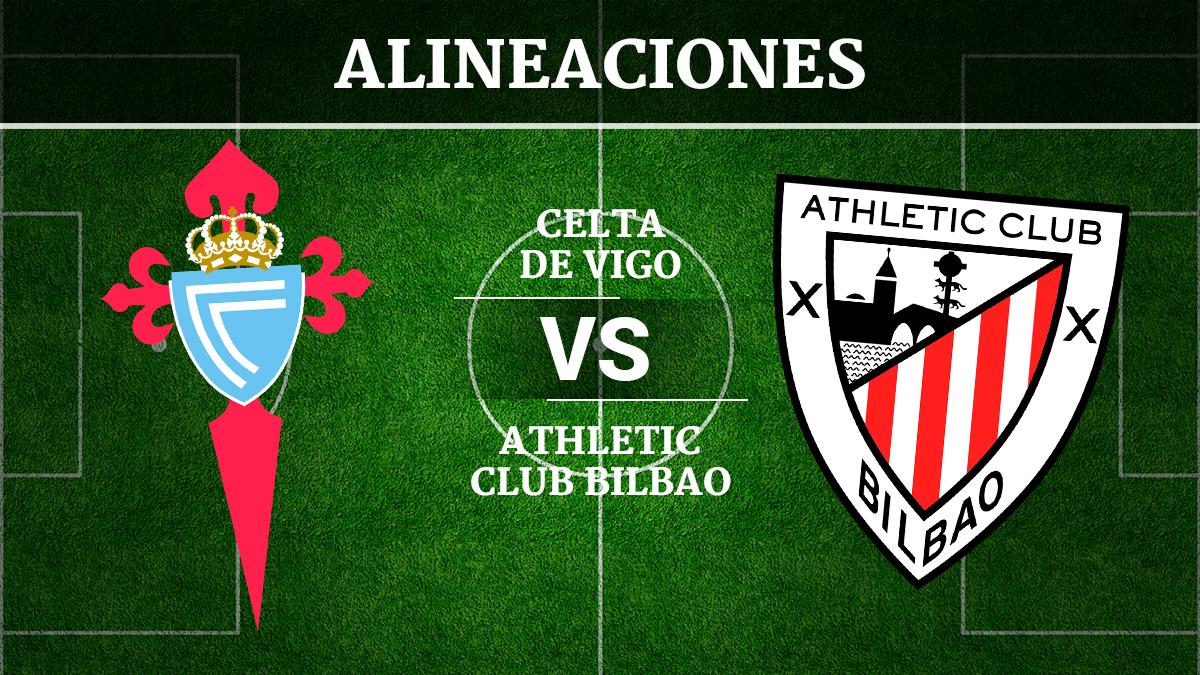 Consulta las posibles alineaciones del Celta de Vigo vs Athletic de Bilbao.
