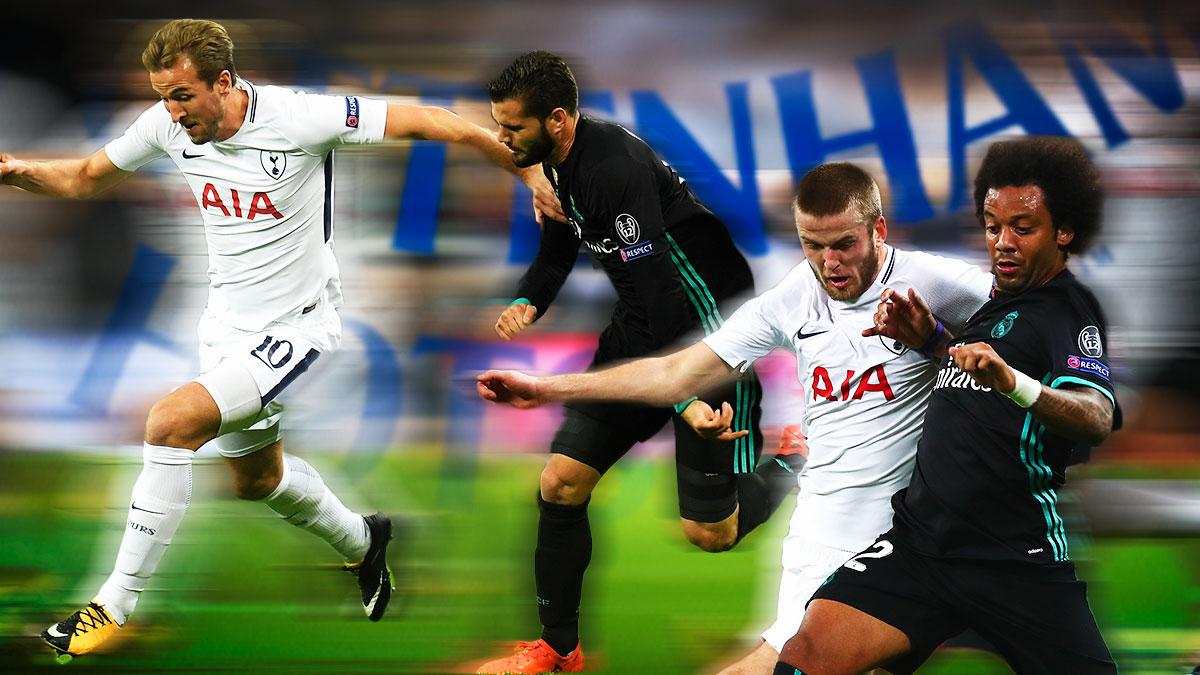El Tottenham corrió 12 kilómetros más que el Real Madrid