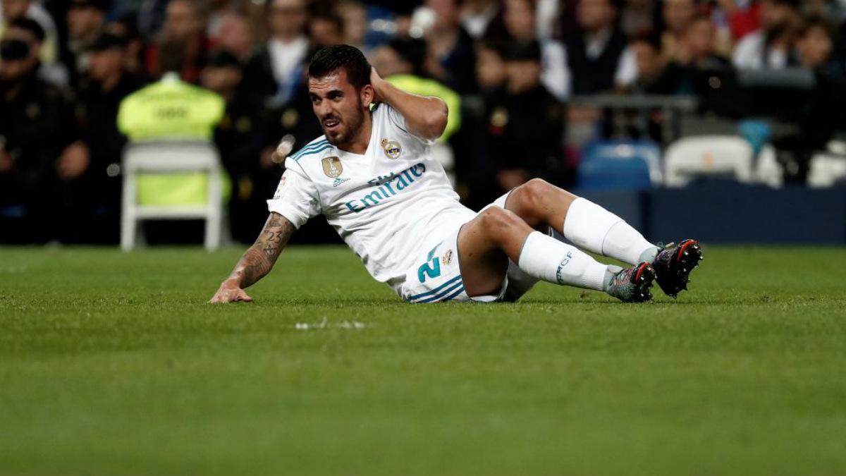 Dani Ceballos, durante un partido de la presente campaña en el Bernabéu (Getty).