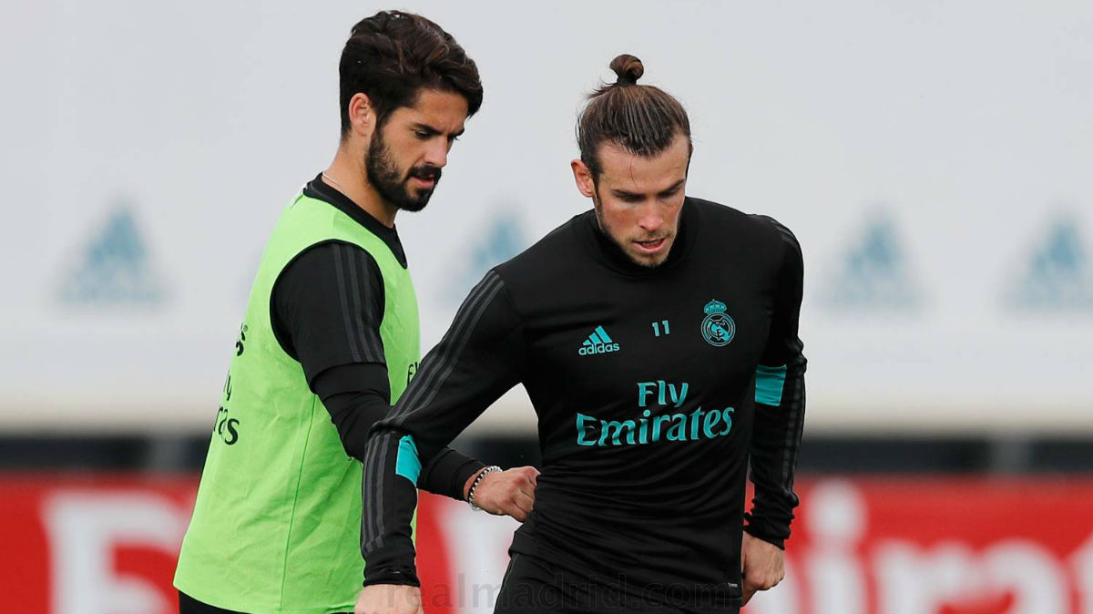 Bale volvió a los entrenamientos con el grupo.