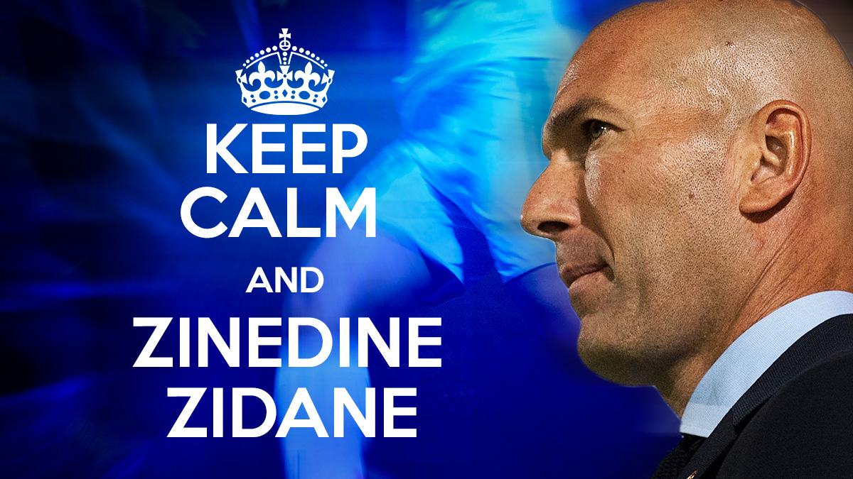 Keep Calm and Zinedine Zidane