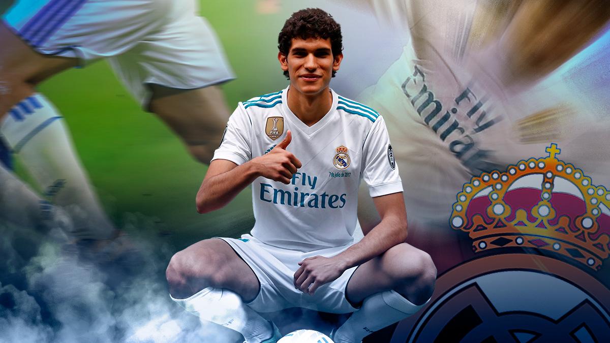 Jesús Vallejo tuvo que esperar a debutar con el Real Madrid en partido oficial al duelo copero en Fuenlabrada. Este domingo frente a Las Palmas el joven central podría entrar directo al once para suplir a un Nacho que está apercibido de sanción.