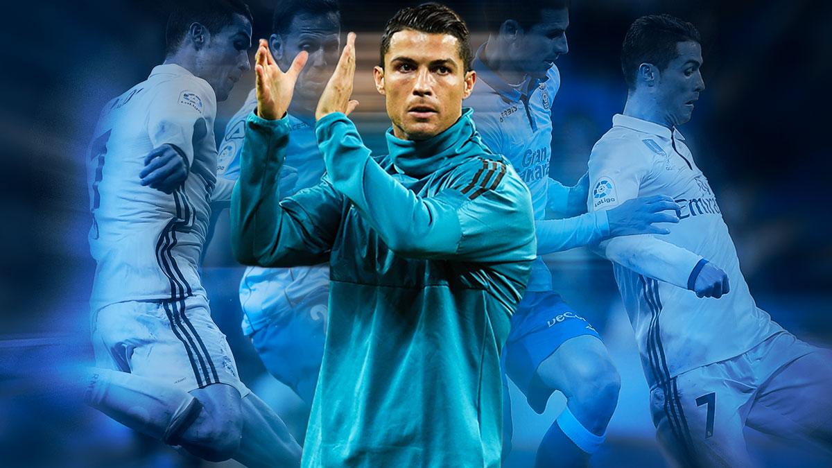 Cristiano tiene grandes números contra Las Palmas.