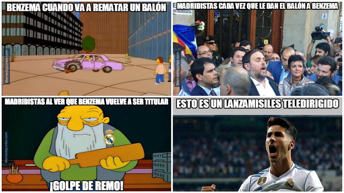 Los mejores memes del Real Madrid vs Las Palmas.