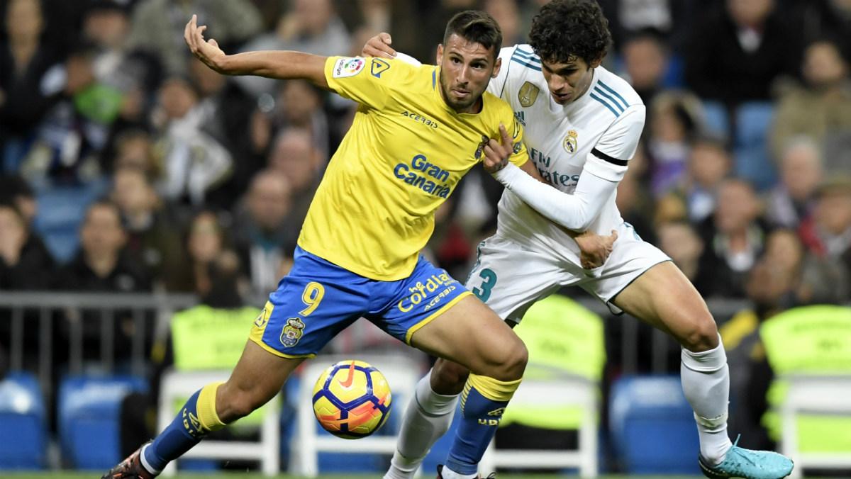 Jesús Vallejo debutó en LIga con el Real Madrid. (AFP)
