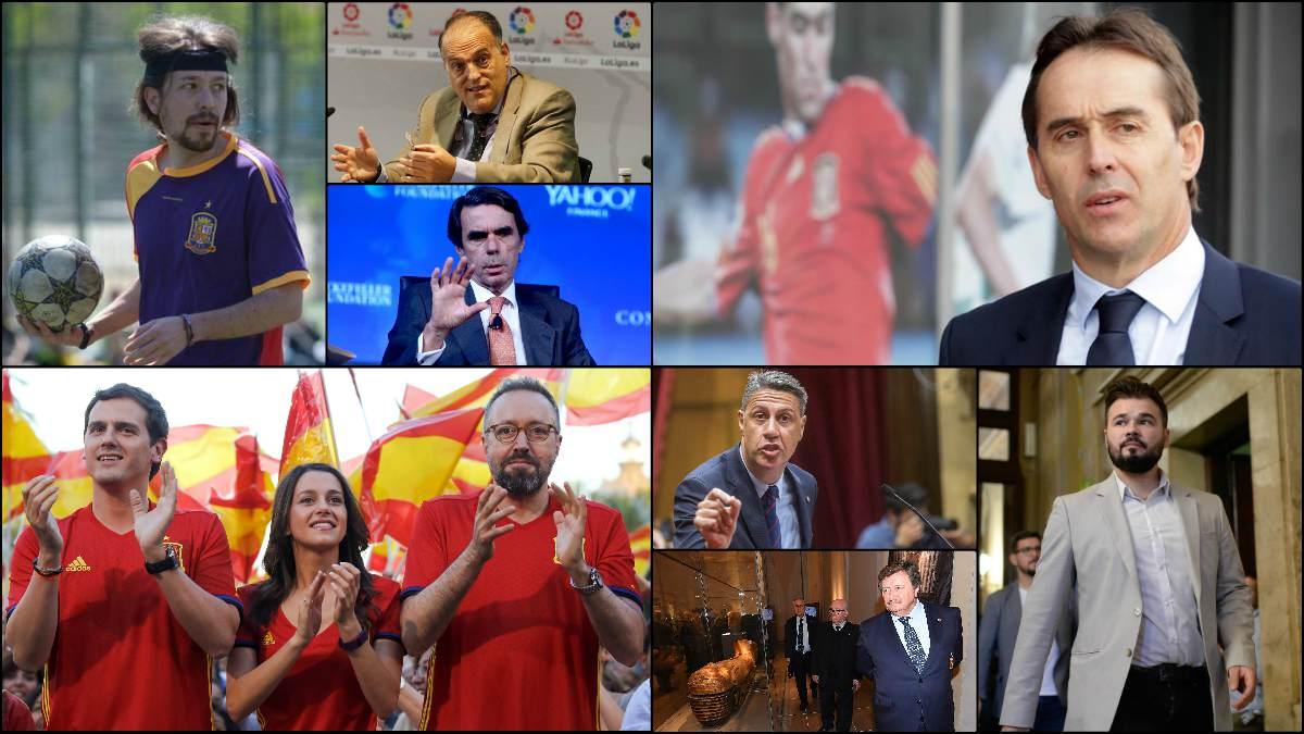 Diversas personalidades del deporte y la política se han pronunciado sobre la nueva camiseta de España.