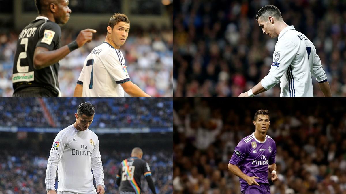 Los otros enfados de Cristiano Ronaldo con el Real Madrid