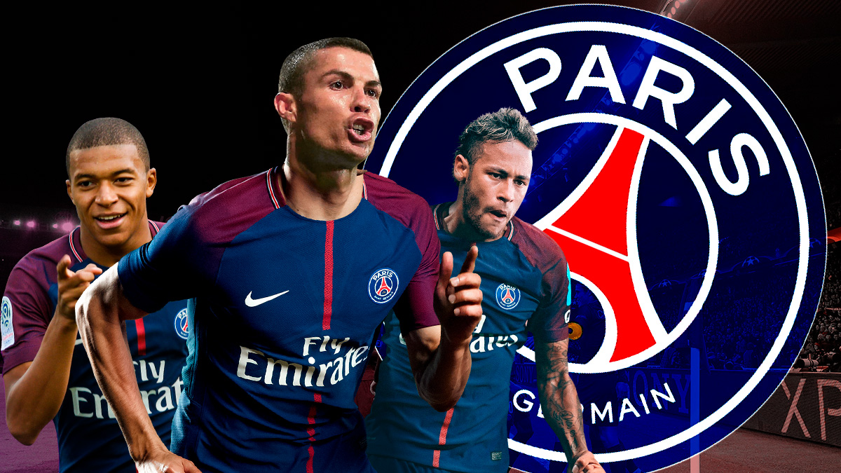 Neymar, Mbappé y Cristiano, la delantera ¿imposible? del PSG