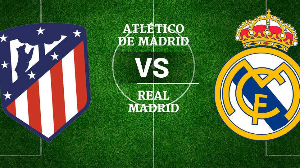 Atlético Madrid Vs Real Madrid: Canal De Televisión Para Ver En Vivo El Atlético Vs Real