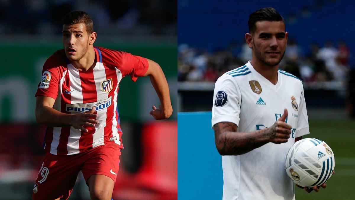 Theo Hernández se mide por primera vez a su ex equipo con la camiseta del Real Madrid (Getty).