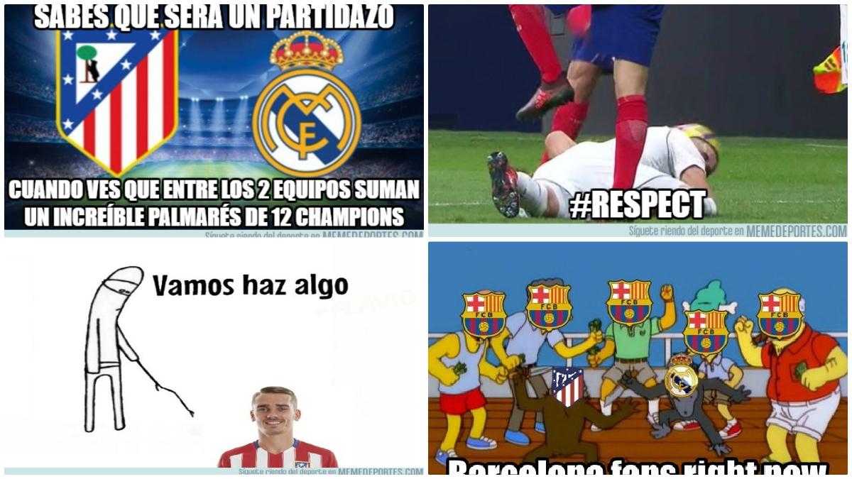 Los mejores memes del derbi madrileño.