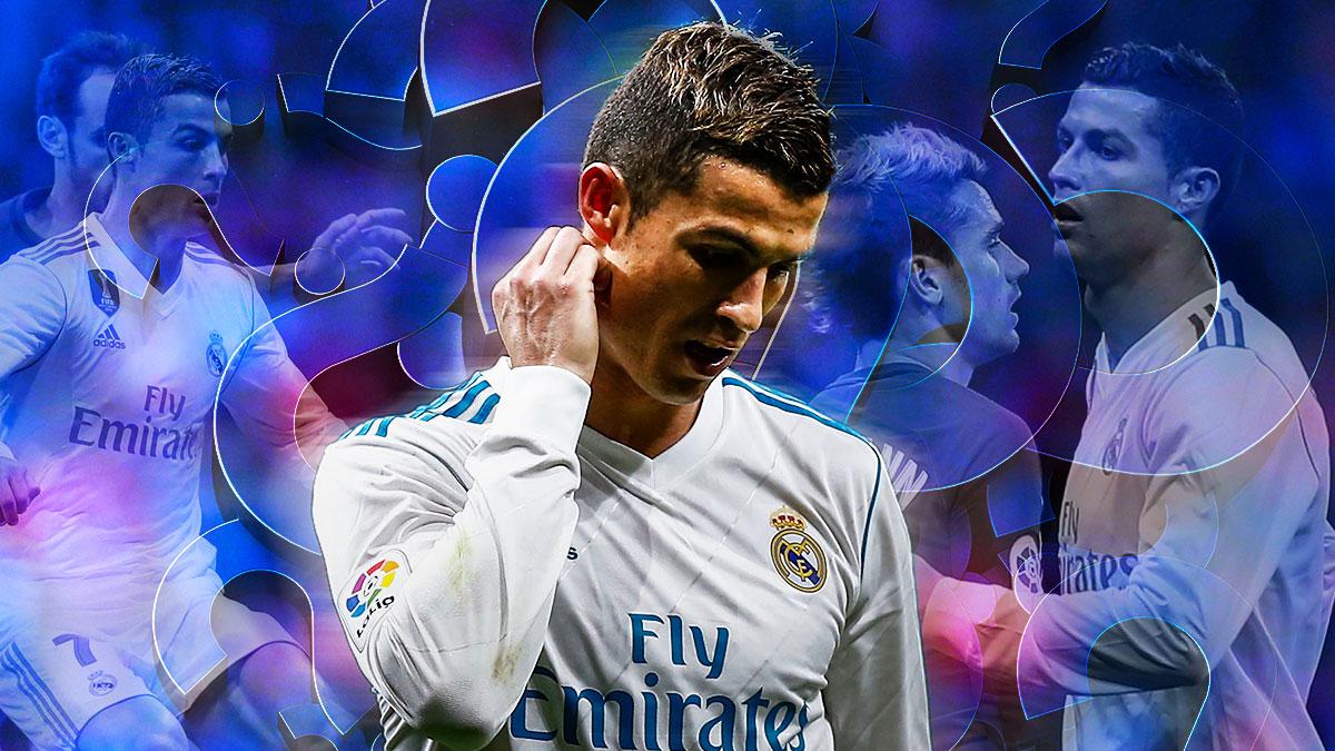 Cristiano Ronaldo está viviendo su peor racha como madridista.