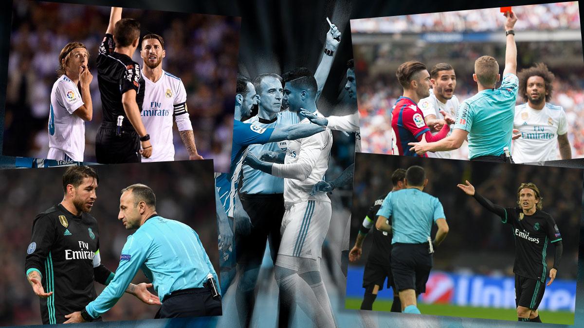 El Real Madrid ha estallado por culpa de los arbitrajes.