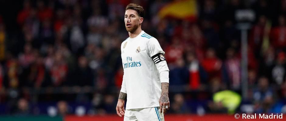 Sergio Ramos sufre una rotura en la nariz. (Realmadrid.com)