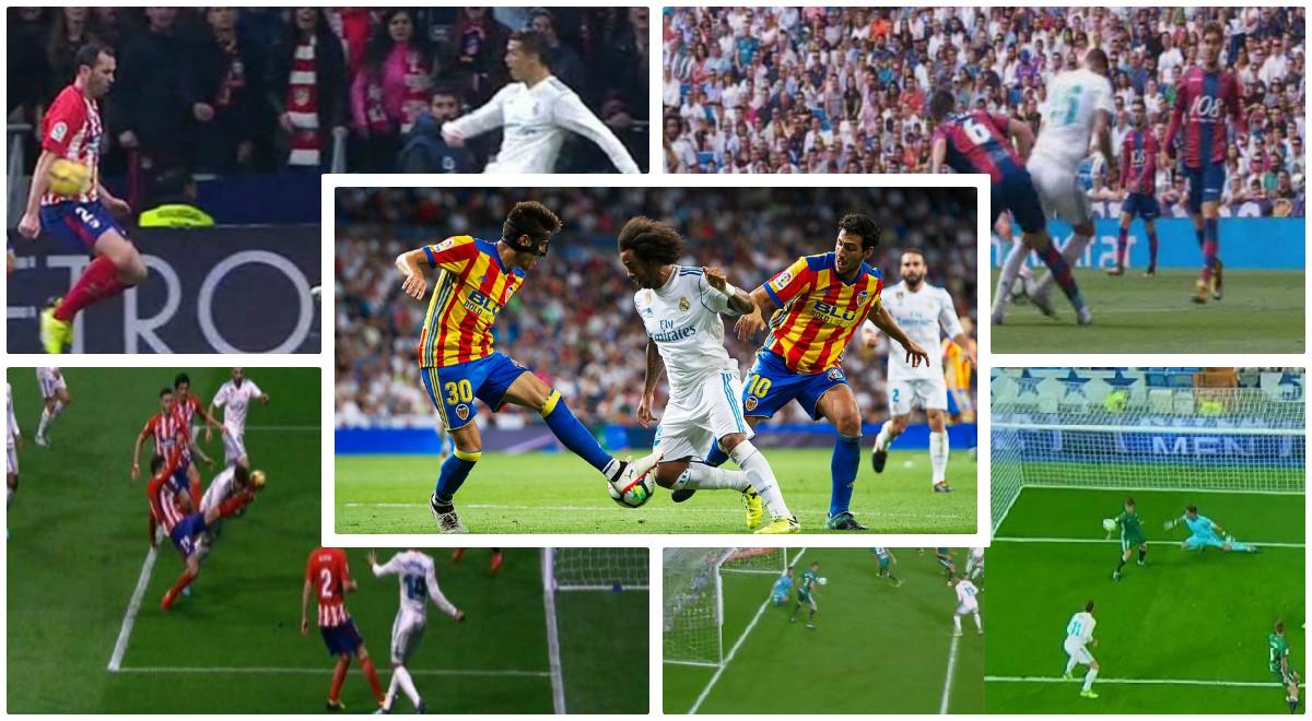 Los árbitros están masacrando al Real Madrid en Liga.