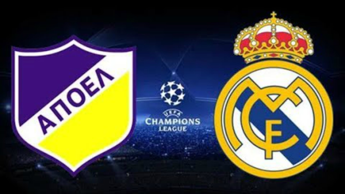 APOEL Vs Real Madrid.