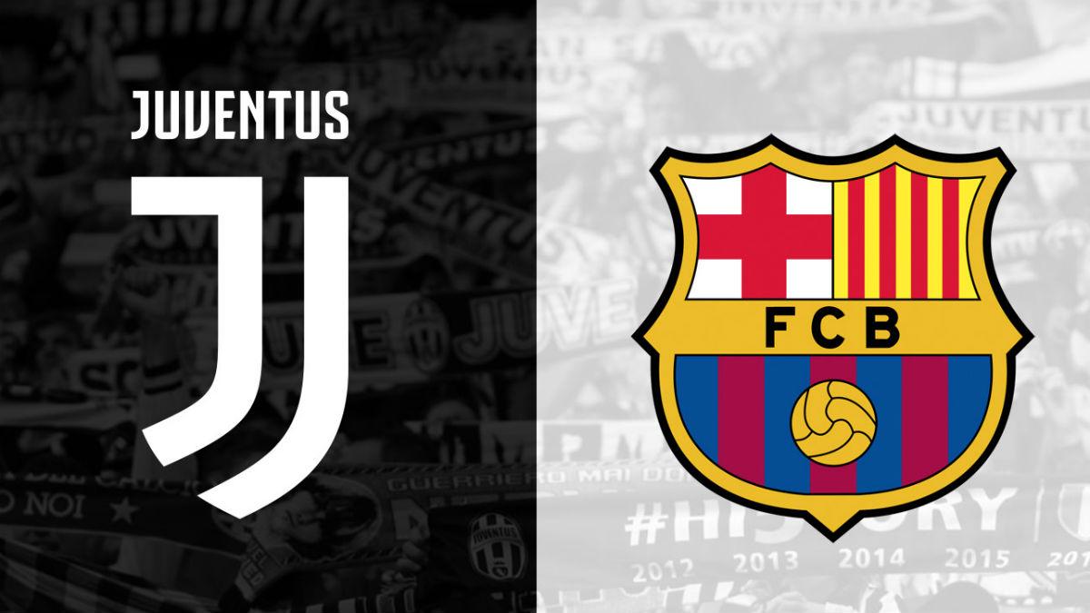 Juventus Vs Barcelona.