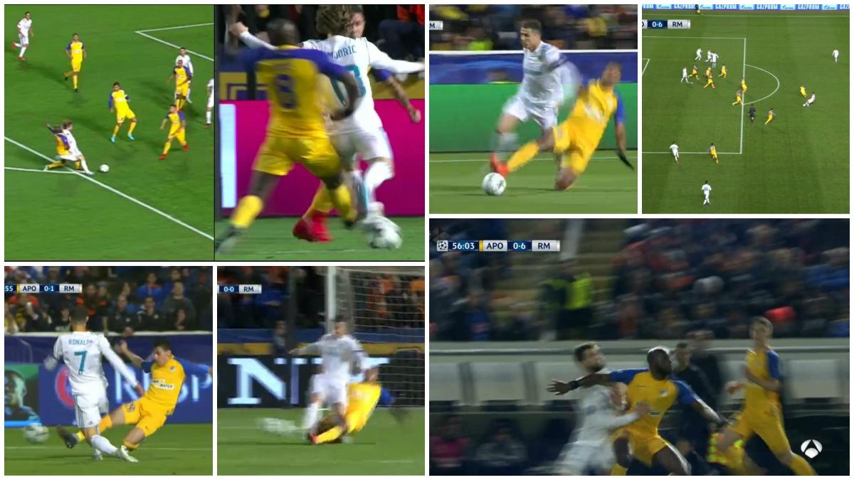 Las seis jugadas más polémicas del APOEL vs Real Madrid.